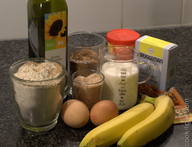 банановые маффины ингредиенты
