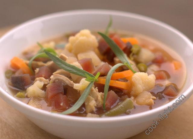 крестьянский суп со свеклой