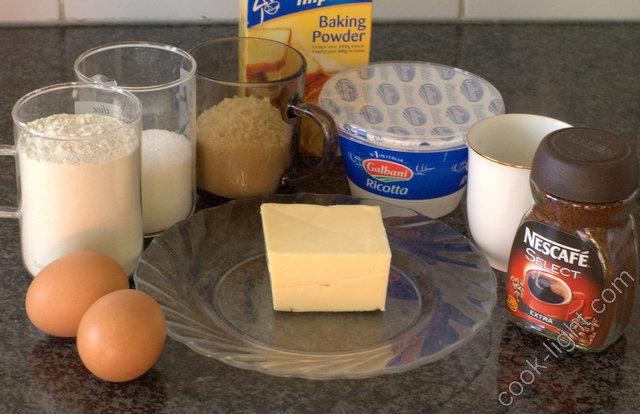 кексы тирамису ингредиенты